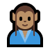 🧝🏽‍♂️ man elf: medium skin tone Emoji on Windows Platform