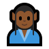 🧝🏾♂️ man elf: medium-dark skin tone Emoji on Windows Platform