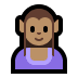 🧝🏽‍♀️ woman elf: medium skin tone Emoji on Windows Platform
