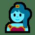 🧞♀️ woman genie Emoji on Windows Platform