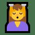 💆 person getting massage Emoji on Windows Platform