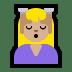 💆🏼 person getting massage: medium-light skin tone Emoji on Windows Platform