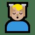 💆🏼♂️ man getting massage: medium-light skin tone Emoji on Windows Platform