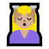 💆🏼‍♀️ woman getting massage: medium-light skin tone Emoji on Windows Platform