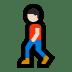 🚶🏻 person walking: light skin tone Emoji on Windows Platform
