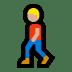 🚶🏼 Medium Light Skin Tone Person Walking Emoji on Windows Platform