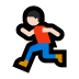 🏃🏻‍♂️ man running: light skin tone Emoji on Windows Platform