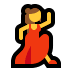 💃 woman dancing Emoji on Windows Platform