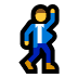 🕺 man dancing Emoji on Windows Platform