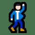 🕺🏻 man dancing: light skin tone Emoji on Windows Platform