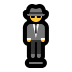 🕴️ man in suit levitating Emoji on Windows Platform