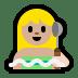 🧖🏼 Medium Light Skin Tone Person In Steamy Room Emoji on Windows Platform
