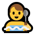 🧖‍♂️ man in steamy room Emoji on Windows Platform