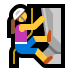 🧗‍♀️ woman climbing Emoji on Windows Platform