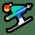 ⛷️ Person Skiing Emoji on Windows Platform