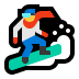 🏂 snowboarder Emoji on Windows Platform