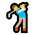 🏌️ person golfing Emoji on Windows Platform