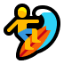 🏄‍♂️ man surfing Emoji on Windows Platform
