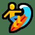 🏄♂️ man surfing Emoji on Windows Platform