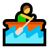 🚣 person rowing boat Emoji on Windows Platform