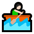🚣🏻‍♂️ man rowing boat: light skin tone Emoji on Windows Platform