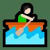 🚣🏻♂️ man rowing boat: light skin tone Emoji on Windows Platform