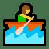 🚣♀️ Woman Rowing Boat Emoji on Windows Platform
