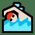 🏊🏻 person swimming: light skin tone Emoji on Windows Platform