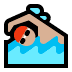 🏊🏼‍♂️ man swimming: medium-light skin tone Emoji on Windows Platform