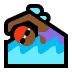 🏊🏾‍♀️ woman swimming: medium-dark skin tone Emoji on Windows Platform