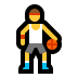 ⛹️‍♂️ man bouncing ball Emoji on Windows Platform