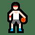 ⛹🏻♂️ man bouncing ball: light skin tone Emoji on Windows Platform