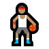 ⛹🏽‍♂️ man bouncing ball: medium skin tone Emoji on Windows Platform