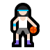 ⛹🏻‍♀️ woman bouncing ball: light skin tone Emoji on Windows Platform