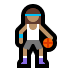 ⛹🏽‍♀️ woman bouncing ball: medium skin tone Emoji on Windows Platform