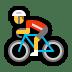 🚴 person biking Emoji on Windows Platform