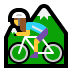 🚵‍♀️ woman mountain biking Emoji on Windows Platform