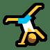 🤸♂️ man cartwheeling Emoji on Windows Platform