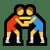 🤼 people wrestling Emoji on Windows Platform
