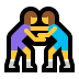 🤼♀️ women wrestling Emoji on Windows Platform