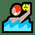 🤽🏼 person playing water polo: medium-light skin tone Emoji on Windows Platform