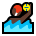 🤽🏿 person playing water polo: dark skin tone Emoji on Windows Platform