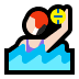 🤽🏻‍♀️ woman playing water polo: light skin tone Emoji on Windows Platform