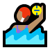 🤽🏽♀️ Medium Skin Tone Woman Playing Water Polo Emoji on Windows Platform