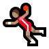 🤾🏽‍♂️ man playing handball: medium skin tone Emoji on Windows Platform