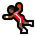 🤾🏾‍♂️ man playing handball: medium-dark skin tone Emoji on Windows Platform