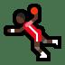 🤾🏿♂️ man playing handball: dark skin tone Emoji on Windows Platform