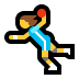 🤾♀️ woman playing handball Emoji on Windows Platform