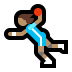 🤾🏽‍♀️ woman playing handball: medium skin tone Emoji on Windows Platform