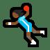 🤾🏾♀️ woman playing handball: medium-dark skin tone Emoji on Windows Platform